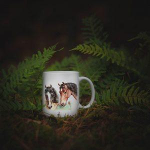 Kubek Pies i Cztery Konie Carl Raichert