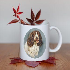 Kubek Springer Spaniel Portret Psa