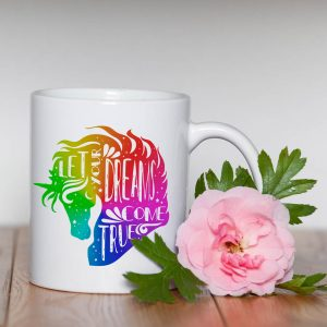Kubek Let Your Dreams Come True Rainbow