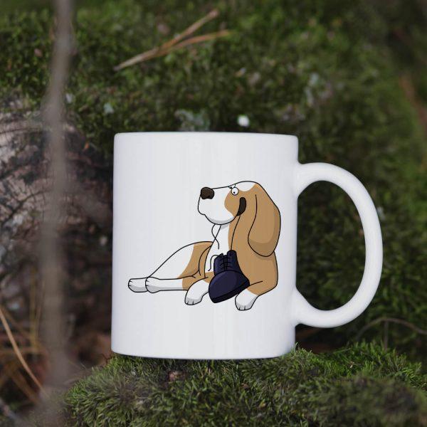 Kubek Beagle Cartoon