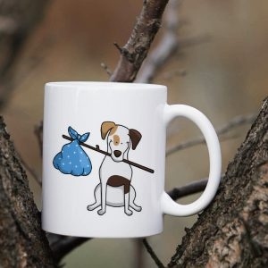 Kubek Jack Russel Terrier Cartoon