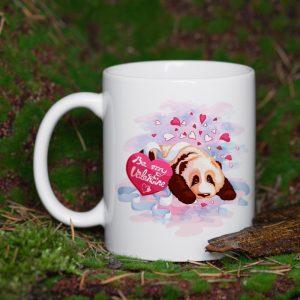 Kubek Be My Panda Valentine