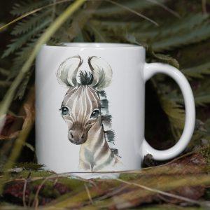Kubek Zebra Akwarelowa