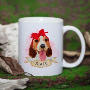 Słodki Kubek Beagle dla Niej