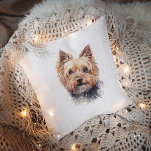 "Poduszka ""Jasiek"" Yorkshire Terrier"