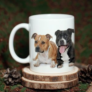 Kubek ze zdjęciem American Staffordshire Terrier