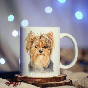 Kubek Yorkshire Terrier Malowany