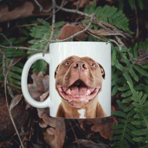 Kubek uśmiechnięty Pitbull