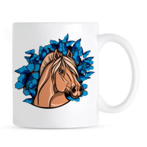 Koń Fiordzki Portret