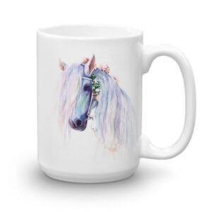 Baśniowy Koń w Kwiatach