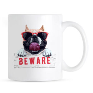 Kubek Beware! Buldog Angielski