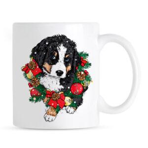Świąteczny Kubek Berneński Pies Pasterski
