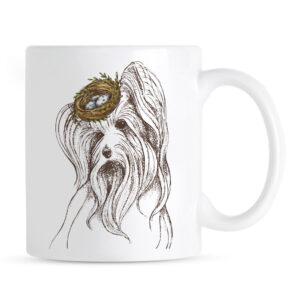 Kubek Yorkshire Terrier w Kapeluszu