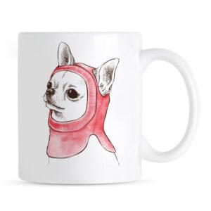 Kubek Chihuahua Zimowa