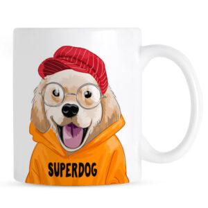 Kubek Superdog Golden Retriever