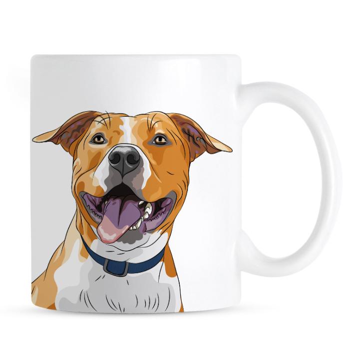 Kubek American Staffordshire Terrier