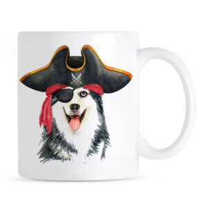 Kubek Siberian Husky Pirat