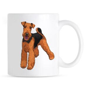 Kubek Airedale Terrier